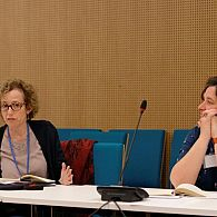 Prof. Hariet Murav and Prof. Claire Le Foll