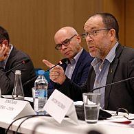 Prof. Daiusz Stola and Prof. Jonathan Dekel-Chen