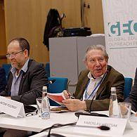 Prof. Dariusz Stola, Prof. Jonathan Dekel-Chen, Prof. Antony Polonsky and Prof. Yaroslav Hrytsak