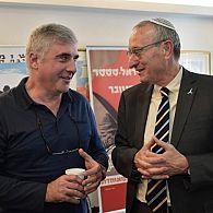 Leonid Nevzlin and Menachem Ben-Sasson