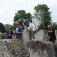 Documenting over 1500 Tombstones