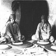 Baking Matzot, Bukhara, 1931