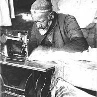 Local tailor, Samarkand, 1931
