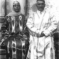 Bukharian Jew and his spouse