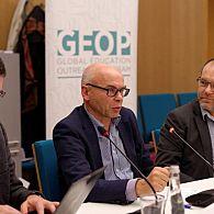 Dr. Darius Staliunas, Prof. Dariusz Stola and Prof. Jonathan Dekel-Chen