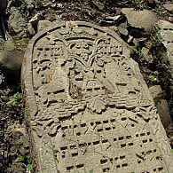 Tombstone in Nadvirna, Ukraine