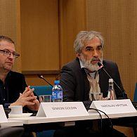 Dr. Semion Goldin and Prof. Yaroslav Hrytsak