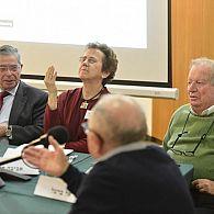 Arie Naor, Aviva Halamish and Israel Bartal
