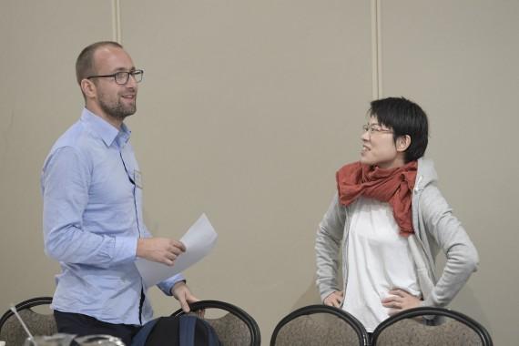 Kamil Kijek and Satoko Kamoshida